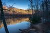 Darkening Skies (AustinPettit) Tags: park creek exposure water sunset landscape trees nature atlanta georgia outdoor