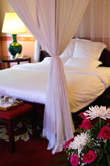Deluxe Room with Four-Poster Bed (The Best Luang Prabang Hotel) Tags: deluxeroom villamaly fourposterbed boutiquehotel boutiquehotelinluangprabang hotelinluangprabang hotelsinluangprabang luangprabanghotel luangprabang laos