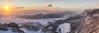 Sonnenaufgang auf der Hohen Wand (dominikfranzl) Tags: hohe wand sunrise panorama landscape