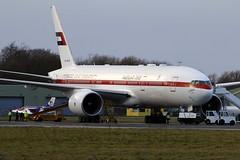 B777  A6-ALN (TF102A) Tags: aviation aircraft prestwick b777 unitedarabemirates