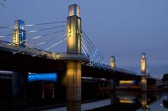 Light it up (dangr.dave) Tags: mclennancounty waco tx texas downtown historic architecture bridge lighting lights river