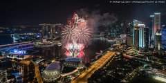 New Year Fireworks (20161231-DSC01221) (Michael.Lee.Pics.NYC) Tags: singapore newyear 2017 marinabay fireworks swissotelstamford aerial night longexposure esplanade mbs marinabaysands cbd centralbusinessdistroct padang fullerton singaporeriver cityscape architecture sony a7rm2 zeissloxia21mmf28