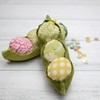 "Pea Pod Pin Cushion • <a style=""font-size:0.8em;"" href=""http://www.flickr.com/photos/29905958@N04/32182588771/"" target=""_blank"">View on Flickr</a>"
