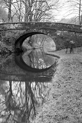 Burntacres Bridge (ProspectMik) Tags: pennines rochdalecanal yorkshire bridge canal nikon
