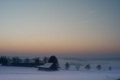 Winter (mripp) Tags: vogtland bayern bavaria landschaft landscape sunrise sonnenaufgang winter frost cold art kunst retro vintage kitsch kitschig leica m9 summicron 50mm
