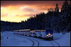 AMTK 199 (golden_state_rails) Tags: amtrak amtk cz california zephyr snow soda springs ca sierra cement donner pass