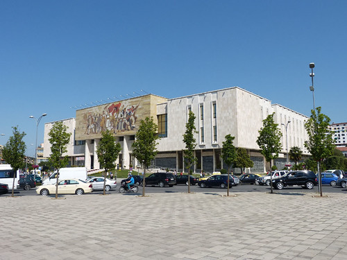 Tirana, Nemzeti Történelmi Múzeum