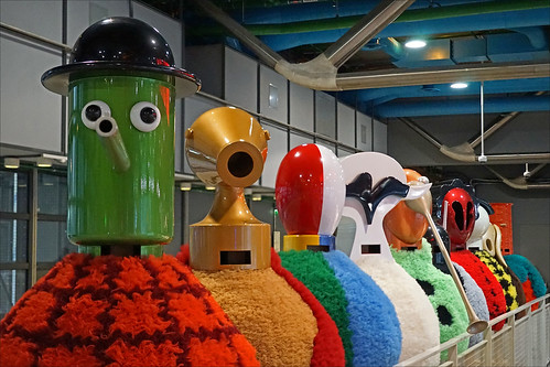 La Parade moderne pour les 40 ans du Centre Pompidou (Paris)