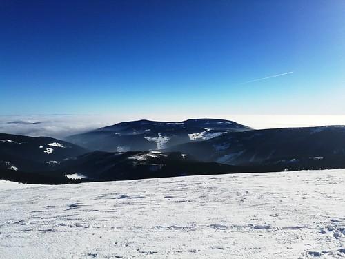 Černá hora od Luční hory