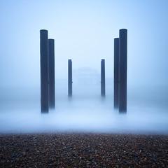 Sea Fog (Stu Meech) Tags: brighton west pier east sussex fog sunrise mist sea nikon d750 big stopper stu meech