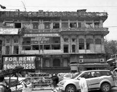 Old Delhi (Mivr) Tags: street old white black mamiya film delhi 7