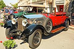 1927 Rolls Royce Phantom I (Brad Harding Photography) Tags: classic car vintage automobile antique kansascity missouri restored vehicle restoration carshow kansascityartinstitute artoftheconcours