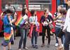 DUBLIN 2015 LGBTQ PRIDE FESTIVAL [PREPARING FOR THE PARADE] REF-106230