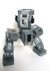 Pose (Piece of Slice) Tags: dawn lego legs walker scifi forge mecha mech