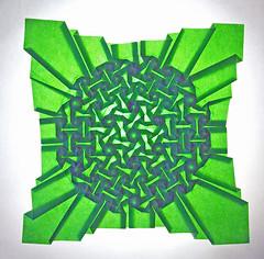 Watering Fujimoto´s Garden (mganans) Tags: origami tessellation