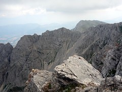 """Monte Sirente's more dramatic east side from the summit • <a style=""""font-size:0.8em;"""" href=""""http://www.flickr.com/photos/41849531@N04/19752298715/"""" target=""""_blank"""">View on Flickr</a>"""