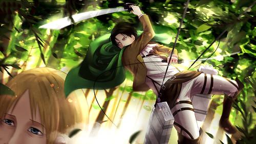 Levi Attack On Titan Wallpaper Hd Gambarku