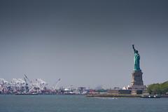 Statue of Liberty (ghostwheel_in_shadow) Tags: sculpture usa newyork statue america us unitedstates manhattan northamerica newyorkstate statueofliberty statuary libertyisland artcultureandcraft