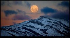 Superluna en Patagonia
