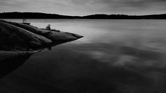 melancholia (blazedelacroix) Tags: sea blackandwhite noir sweden melancholia rx100 blazedelacroix