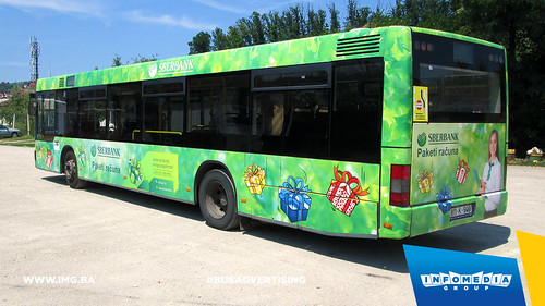 Info Media Group - Sberbank AD, BUS Outdoor Advertising, Banja Luka 07-2015 (4)