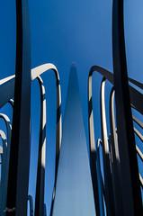 steel art (-BigM-) Tags: detail art monument architecture buildings germany deutschland photography town artwork gallery fotografie steel kunst down galerie architektur baden bauwerk gebude innenstadt stahl stihl murr wn bigm gestaltung wrttemberg waiblingen rems