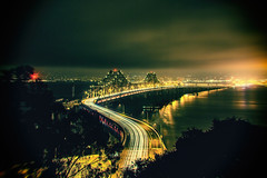 And All You're Left With is a Name (Thomas Hawk) Tags: baybridge california sanfrancisco treasureisland usa unitedstates unitedstatesofamerica yerbabuenaisland bridge fav10 fav25 fav50 fav100