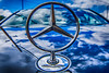 Status Symbol (ralfkai41) Tags: fahrzeuge automobil auto symbol stern car mirroring reflection spiegelung reflektion mercedes status star wolken clouds