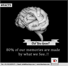 80% of our memories are made by our eye. (bhartieye) Tags: bharti eye eyecare delhi services refractive retina treatment care laser surgery asthetics phacoemulsification phacoemulisification cataract lasik catract glaucoma glucoma oculoplasty ophthalmology hospital foundation phacocataract
