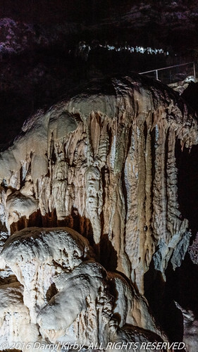 Alien looking formation at Yarrrangobilly Caves, NSW