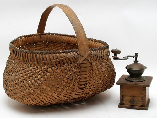 Nice splint oak buttocks basket ($145.60)