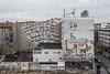 Politischer Herbst (lars_uhlig) Tags: 2016 deutschland germany berlin uhlandstrase wandegmälde tryptichon mural political autumn herbst stimmung wolken wolkig clouds cloudy