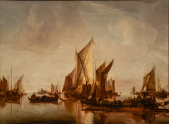 Jan van de Cappelle - A State Yacht and Other Craft in Calm Water, 1660 at Metropolitan Museum of Art New York City NY (mbell1975) Tags: newyork unitedstates us jan van de cappelle a state yacht other craft calm water 1660 metropolitan museum art new york city ny nyc manhattan museo musée musee muzeum museu musum müze finearts fine arts gallery gallerie beauxarts beaux galleria painting met dutch flemish goldenage golden age masters