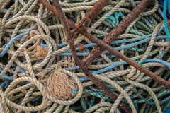 Ropes and Anchors 1, Hastings Beach (Peter Cook UK) Tags: hastings beach fishing anchor sussex rope