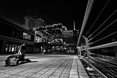 Expand (Matt Creighton) Tags: new orleans louisiana riverwalk mississippi river steel railings brick stairway long exposure night nikon d7200 tokina 1116mm wide angle