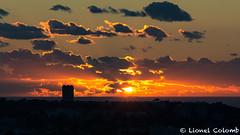 Sunset over Marseille (Lionelcolomb) Tags: sunset marseille landscape paysage orange sea sky cloud sun skyline france provence nature city canon sigma