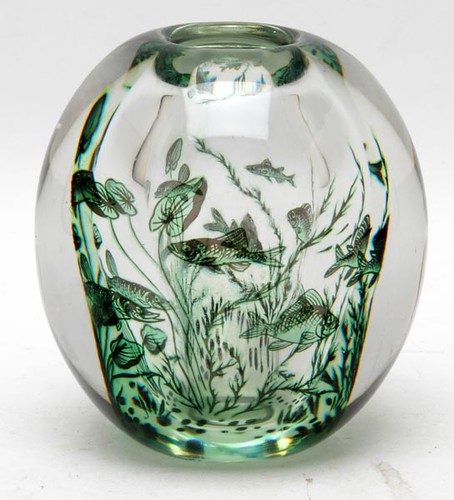 Orrefors Paperweight Vase ($235.20)