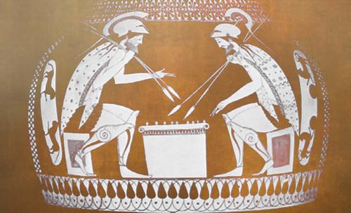"Petteia - Ludus Latrunculorum  / Iconografía de las civilizaciones helenolatinas • <a style=""font-size:0.8em;"" href=""http://www.flickr.com/photos/30735181@N00/31710156593/"" target=""_blank"">View on Flickr</a>"