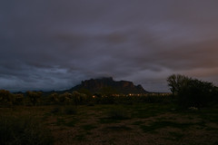 sOLACE sOUGHT iN a sONORAN sTORM 44 (wNG555) Tags: 2017 apachejunction apachetrail superstitionmountain superstitionwilderness desert cactus nightscape storm clouds rokinon14mmf28 arizona phoenix