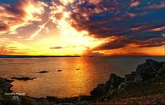 Coucher de soleil ( photopade (Nikonist)) Tags: coucherdesoleil couleurs côtesdarmor bretagnenord bretagne nikon imac affinityphoto paysage nikond300