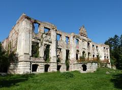 Póstelek, Wenckheim-kastély romja_ (ossian71) Tags: magyarország hungary póstelek épület building műemlék sightseeing kastély palace rom ruin