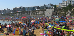 Summertime 2016 (ray 96 blade (retired)) Tags: summertime broadstairs vikingbay watergaladay packedbeach hot
