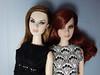 Agnes comparison ; ) (Levitation_inc.) Tags: fashion doll dolls royalty agnes love life lace fr2 clothes ooak levitation optic verve