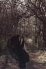 Diadem (Alyssa Mort) Tags: alyssamort conceptual selfportrait surreal dark darkart darkqueen crown photoseries queen forest fineart dress portrait contemporary
