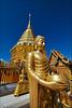 Wat Phrathat Doi Suthep (TOMMY AU PHOTO) Tags: watphrathatdoisuthep watdoisuthep temple gold statues buddhist buddhism buddha blue sky catchycolorsblue chiangmai thailand