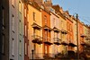 Balconies (Nige H (Thanks for 7.5m views)) Tags: city goldenhour houses terrace balconies colouredhouses bristol england cumberlandbasin