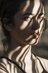 nur (bussragul) Tags: portrait girl woman model sunrise landscape sky clouds fashion art face
