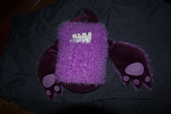 IMG_7416 (armadil) Tags: freecycle stuffedtoy toy purple