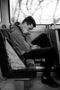 2017_009 (Chilanga Cement) Tags: fuji fujix100t x100t xseries x100s x100 x train commuter squashed phone seat window windows travel commute commuters commuting man student northerntrains legs legroom