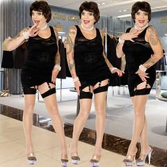 home14187-89 (Ann Drogyny) Tags: shoes legs heels crossdress crossdresser crossdressing cd tv tg ts transvestite transgender transsexual tranny tgirl glamour pinup mature cute sexy stockings nylons suspenders garters